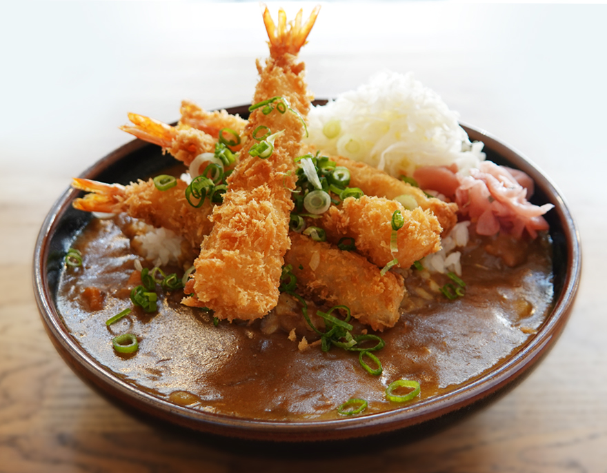 sushi curry