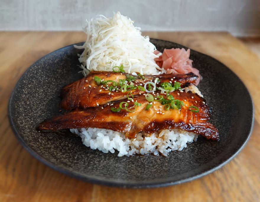 sushi teriyaki