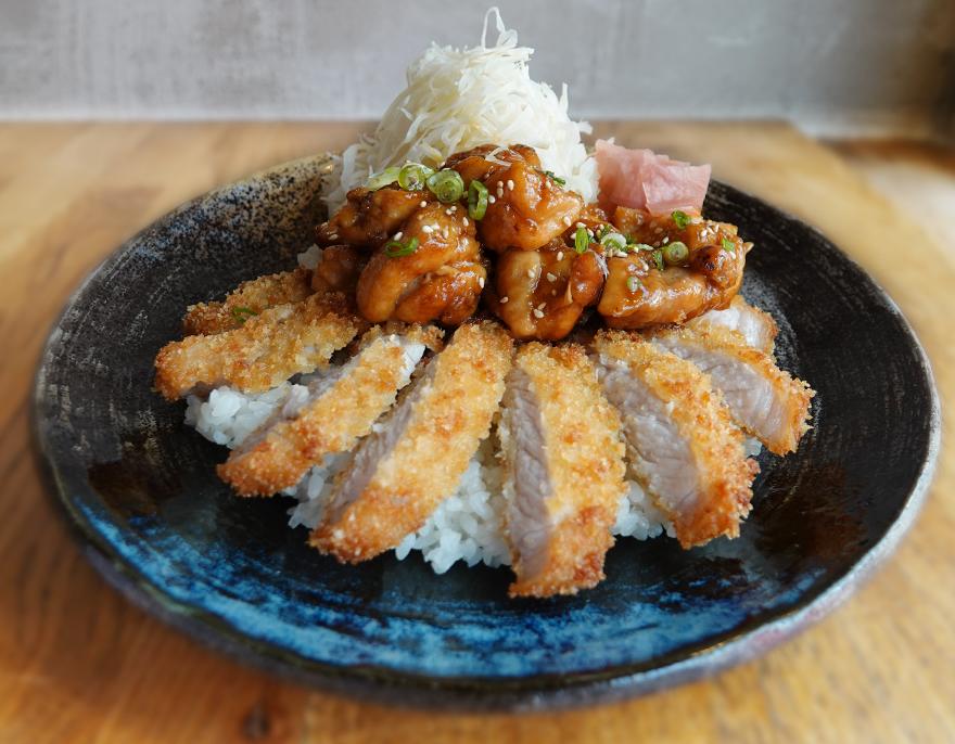 Pork & Chicken Teriyaki