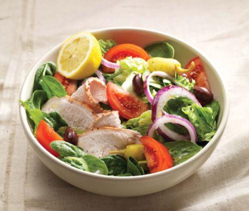 Turkey Mediterranean Salad