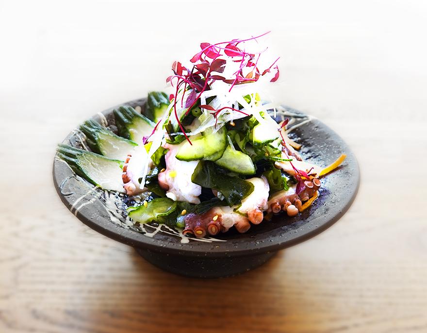 Octopus & Cucumber Salad
