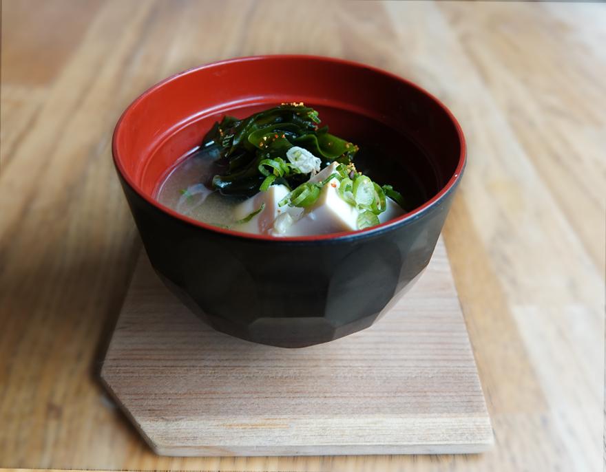 Tofu, Seaweed, Spring Onion