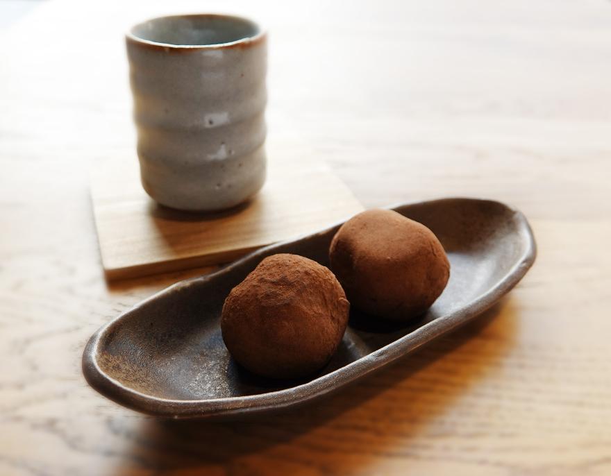 Chocolate Mochi